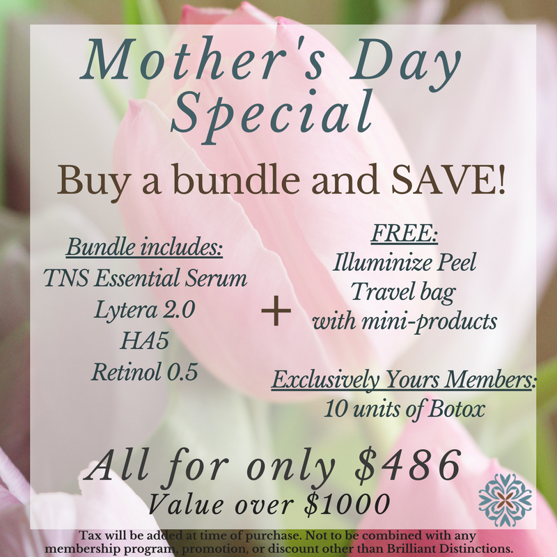 charlotte skin care discounts for mother's day
